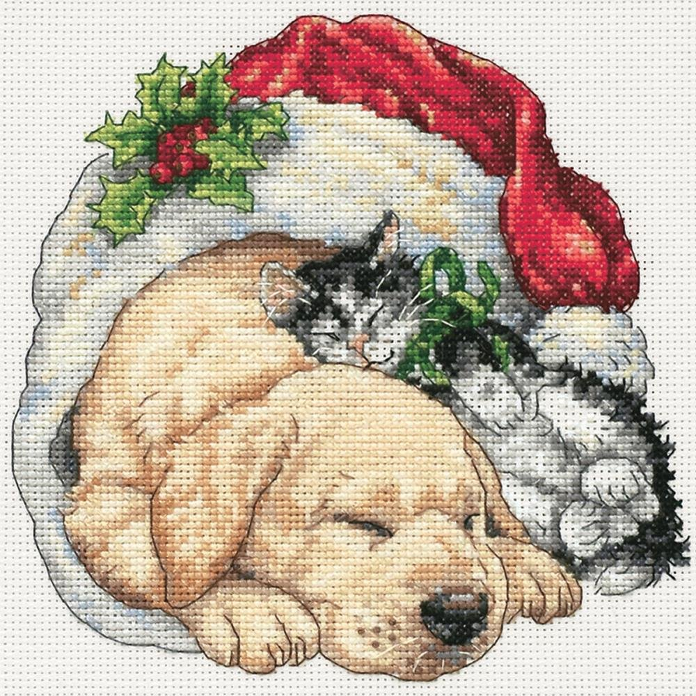 Dimensions Gold Collections Petites - Christmas Morning Pets
