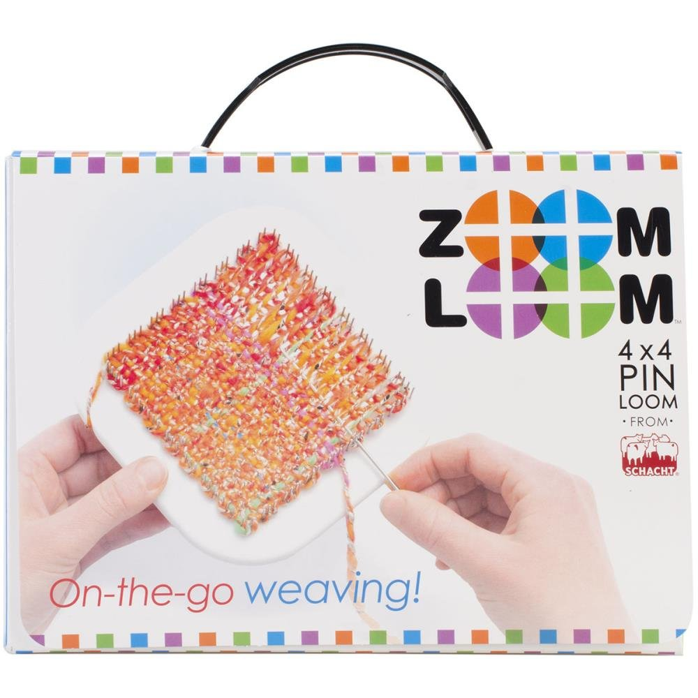 Zoom Loom 4x4 Pin Weaving Loom