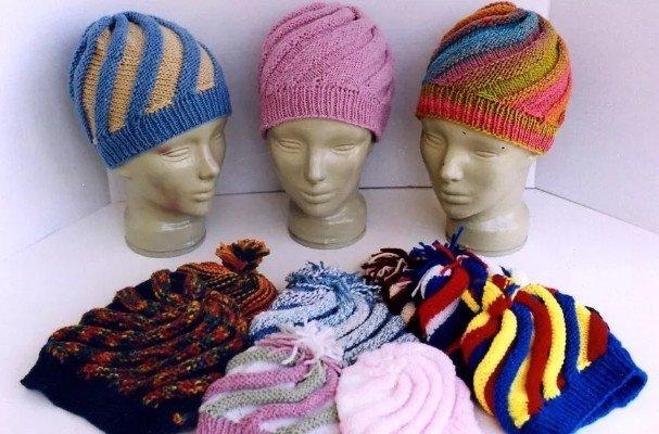 Ann Norling Swirl Hat Pattern