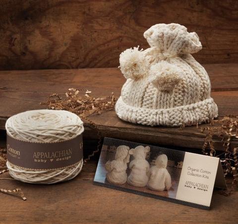 Appalachian Baby Pom-Pom Baby Hat Kit