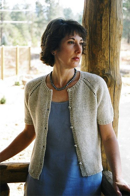 e692f279f923 Knitting Pure   Simple 221 Neck Down Summer Cardi