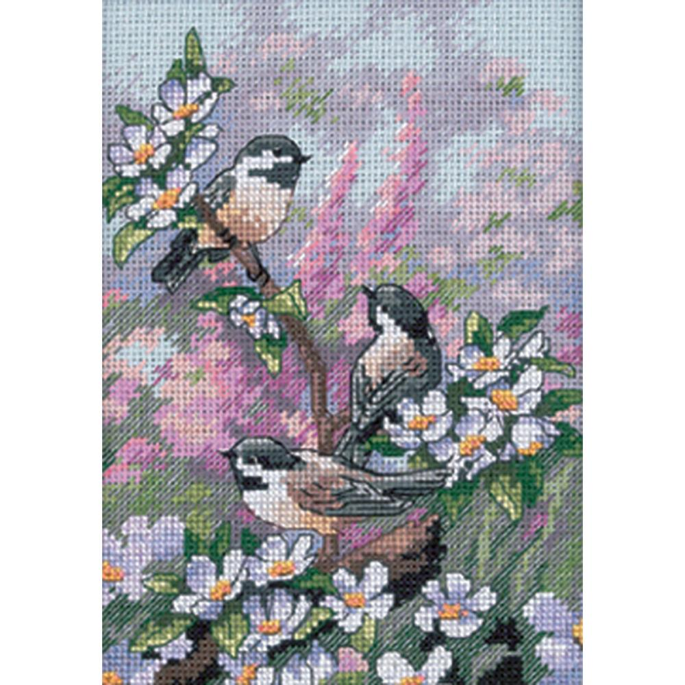 Dimensions Gold Collections Petites - Chickadees in Spring