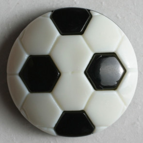 Large Soccer Ball Button 20mm