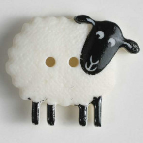 Wild Kingdom Sheep Button 23mm