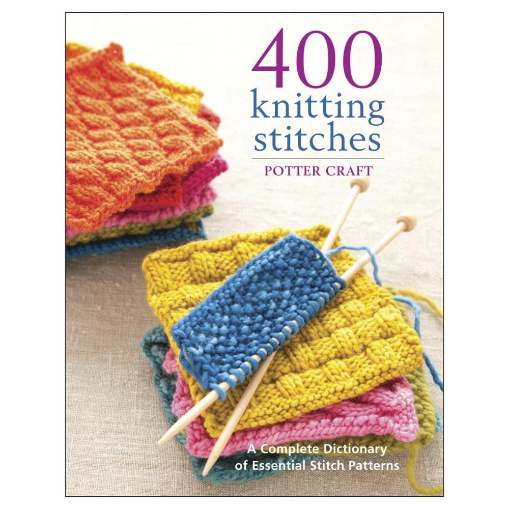 Potter Craft Books-400 Knitting Stitches