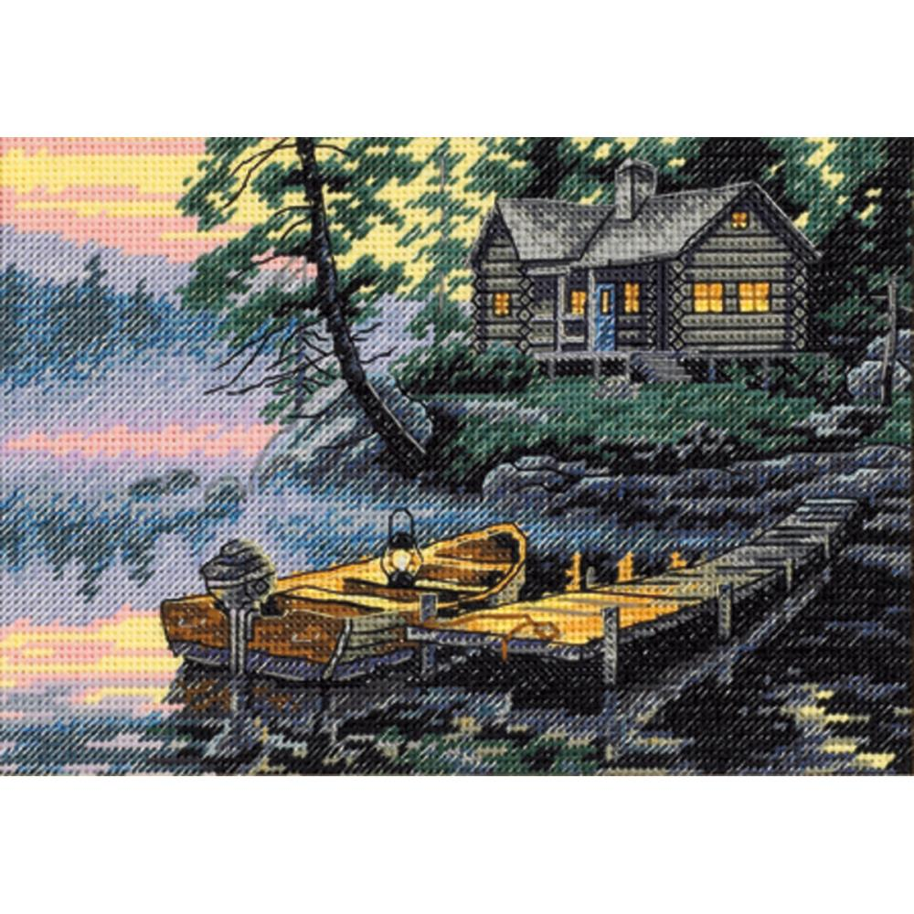 Dimensions Gold Collections Petites - Morning Lake