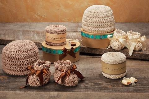 Appalachian Baby Crochet Cuff Cap and Bootie Kit