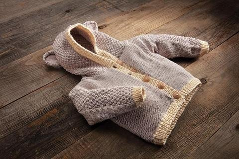 Appalachian Baby Bear Cardigan Kit