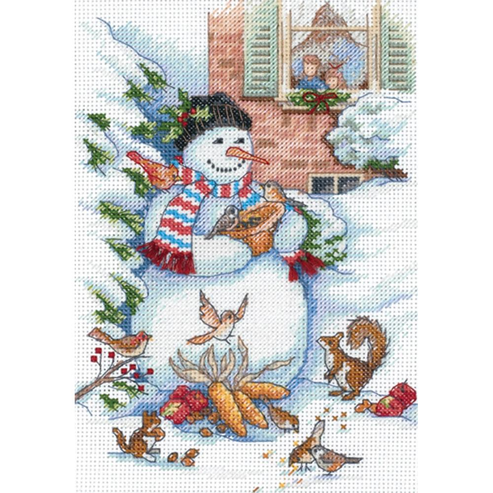 Dimensions Gold Collections Petites - Snowman and Friends