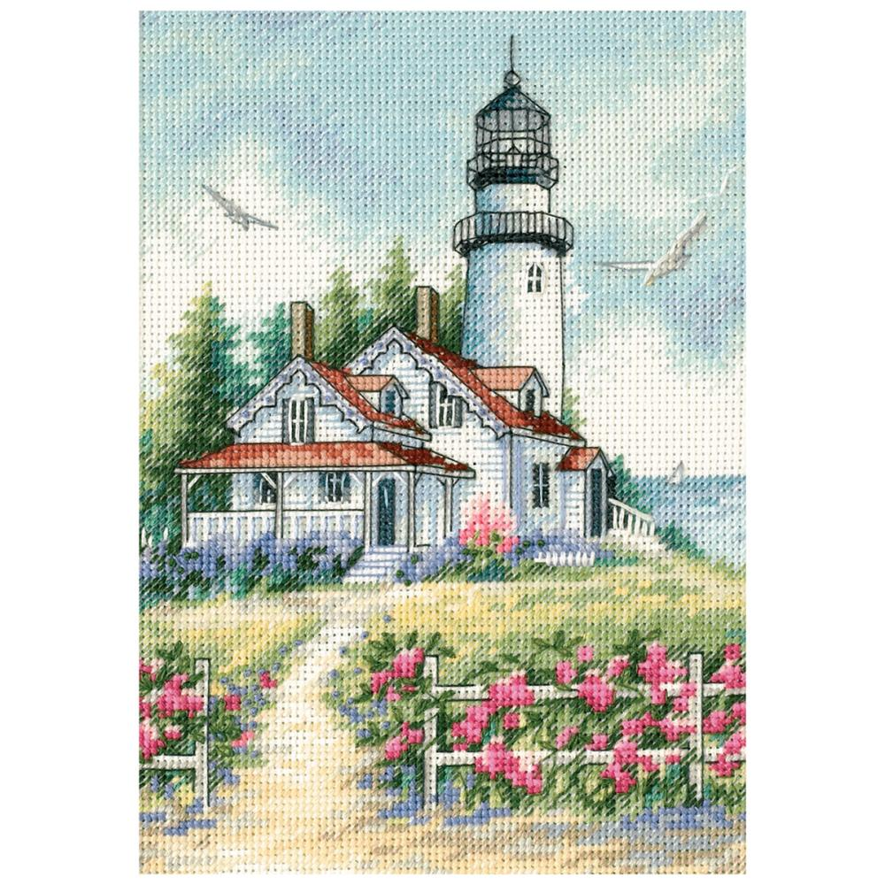Dimensions Gold Collections Petites - Scenic Lighthouse