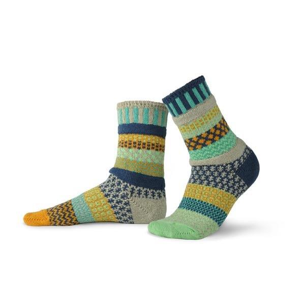 Solmate Crew Socks Aloe