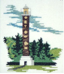 Doherty Designs Astor Column Counted Cross Stitch Kit