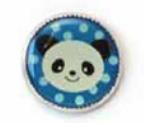 Skacel Button - Animal Polka Dot 18mm Assorted Styles