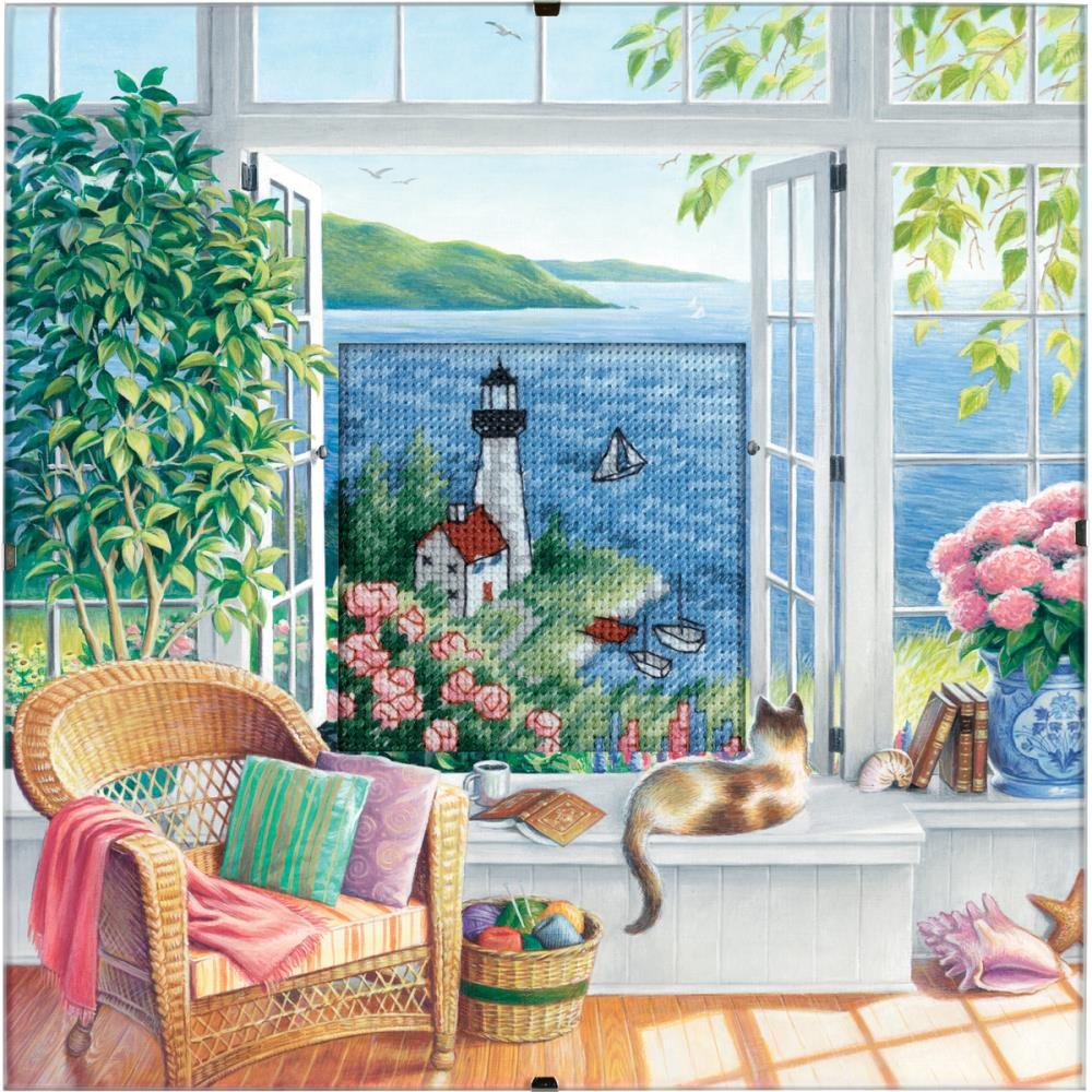 Dimensions Counted Cross Stitch Kit 8X8 - Daydreams
