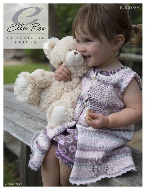 Ella Rae Pattern Blossom Cardigan