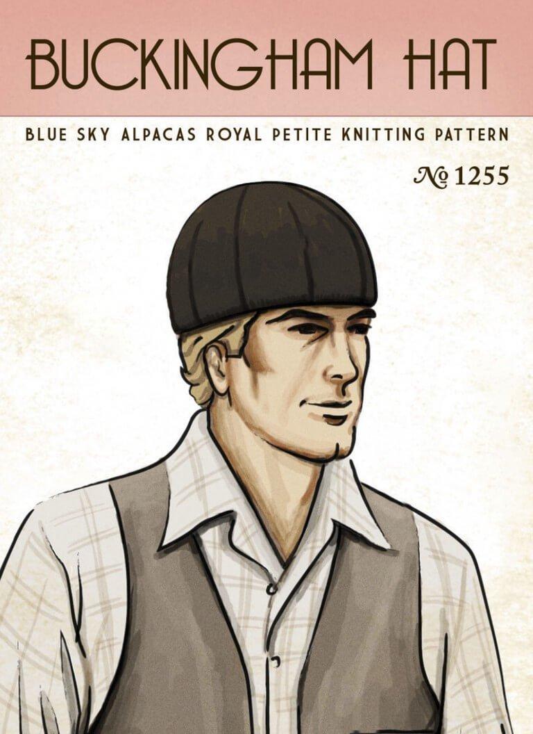 Blue Sky Fibers Buckingham Hat Pattern