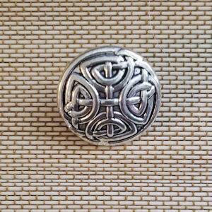 Brass Celtic Knot Button