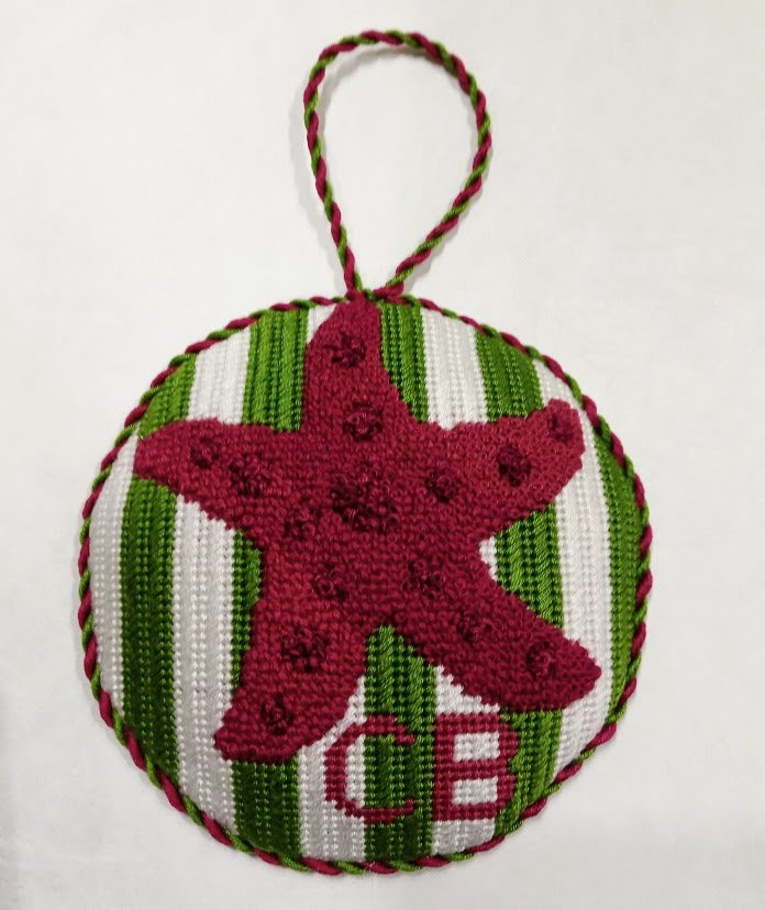 Christy Ragan Needlepoint Starfish