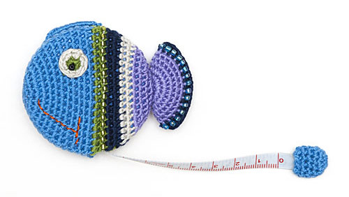 Crochet Fish Tape Measure