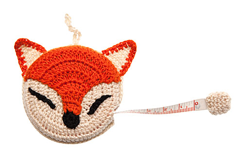 Crochet Fox Tape Measure
