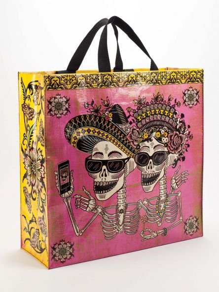 Blue Q Day of the Dead Shopper
