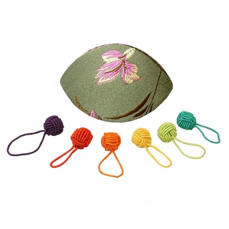 Dumpling Case Stitch Markers