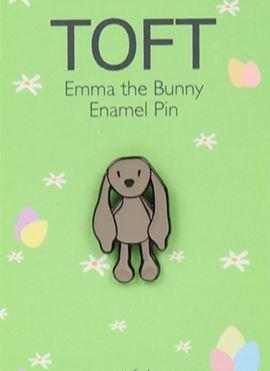 Emma the Bunny Enamel Pin