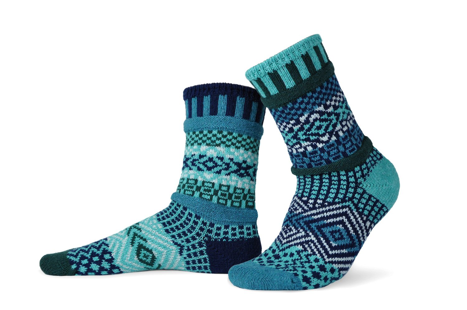 Solmate Crew Socks Evergreen