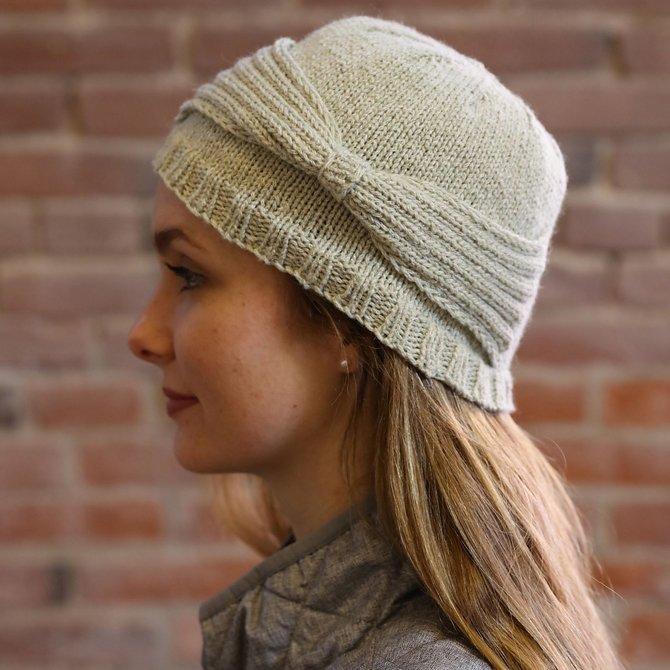 Moon Shadow Cloche Hat
