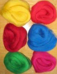 Paint Box Wools Roving