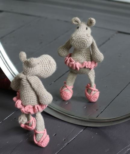 Toft UK Georgina The Ballerina Hippo Kit