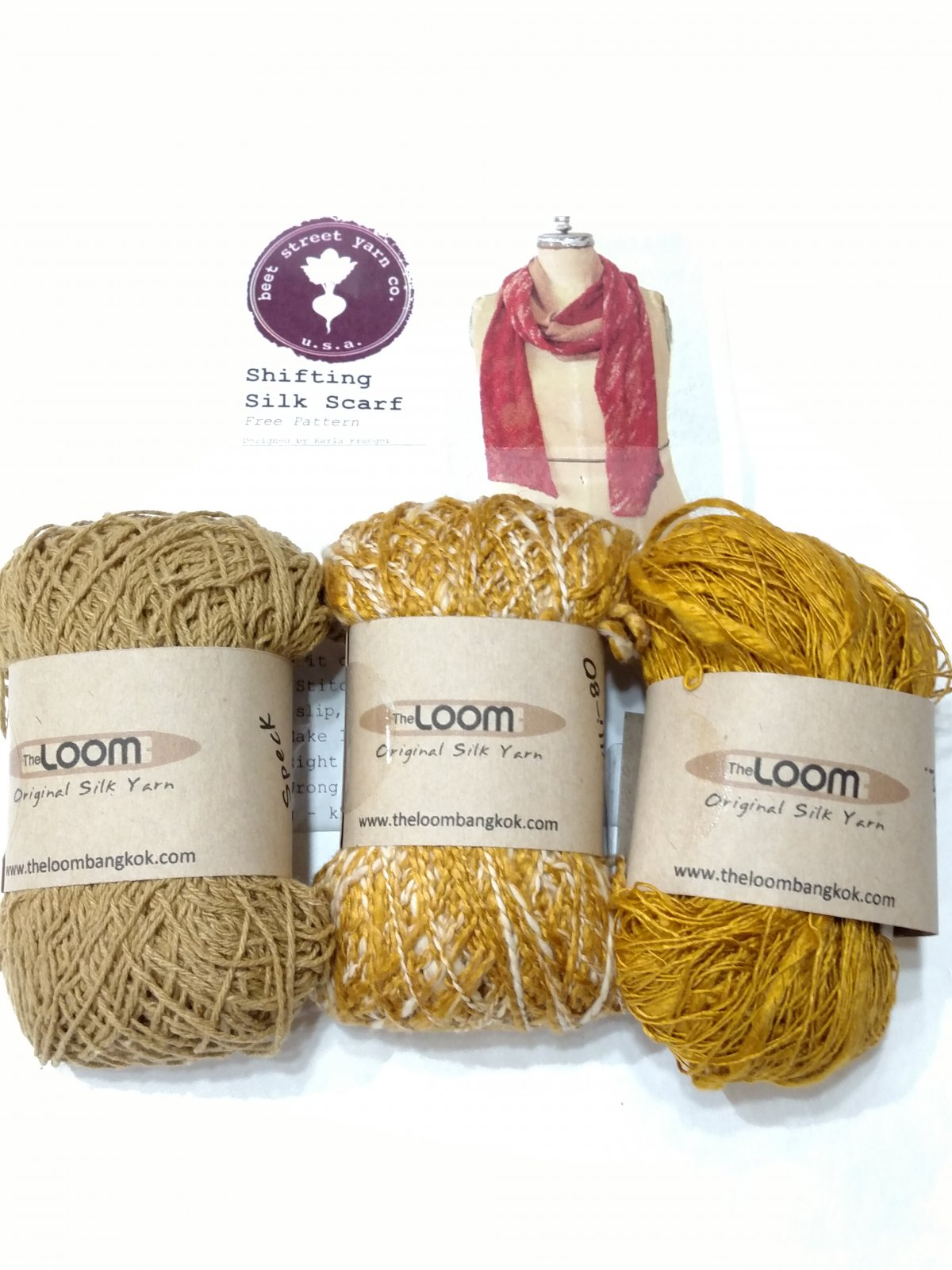 Loom Shifting Silk Scarf Kit
