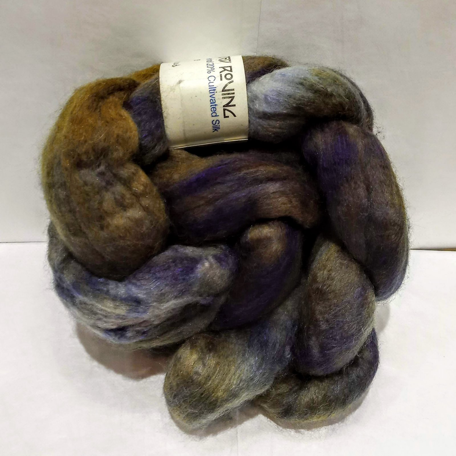 Blue Moon Fiber Arts Baby Camel Silk and Merino Roving
