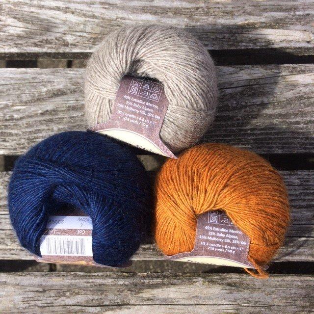 Incan Spice Fair Isle Hat Kit