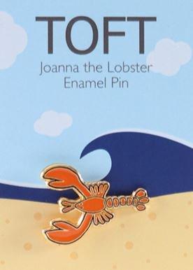 Joanna the Lobster Enamel Pin
