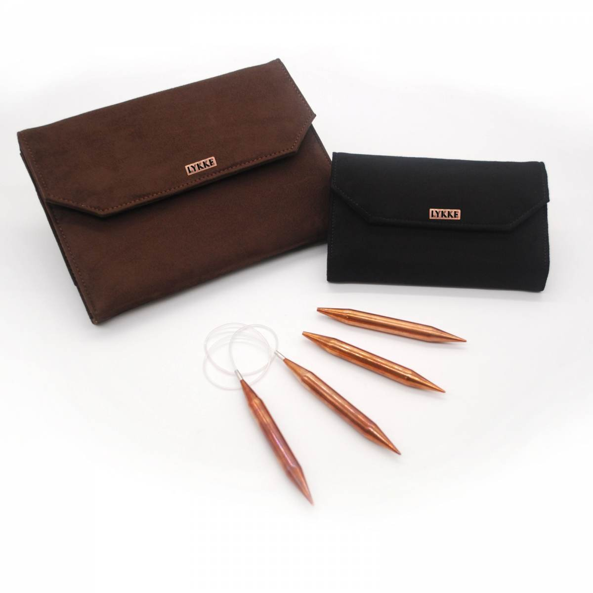 Lykke Cypra 5 Interchangable Copper Knitting Needle Set