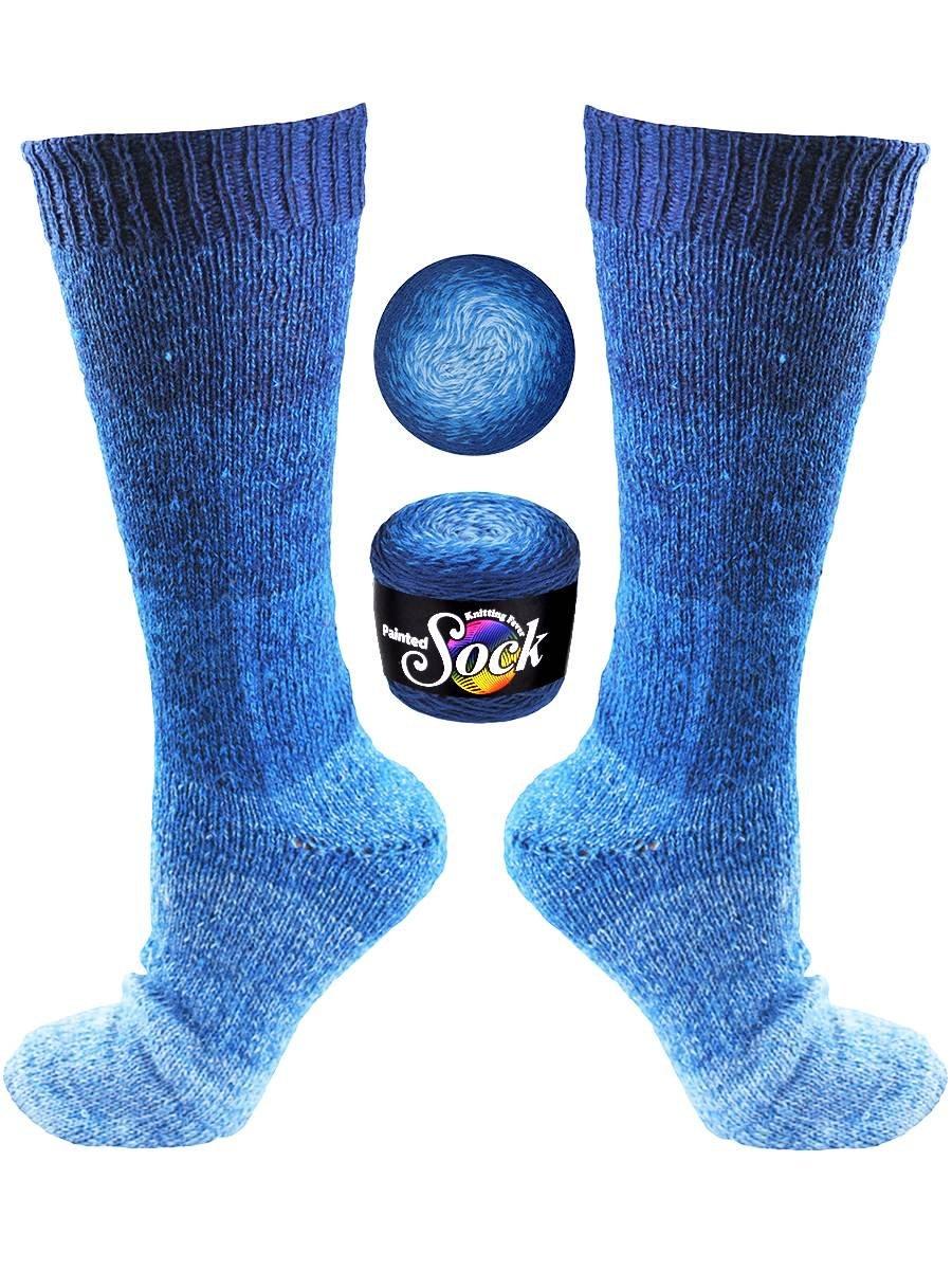 Knitting Fever Painted Sock