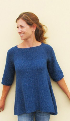 a82354cf9 Knitting Pure   Simple 128 Top Down Trapeze Pullover