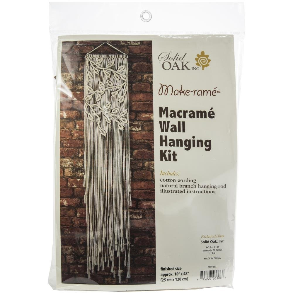 Macrame Wall Hanging Kit - Leaves and Branches