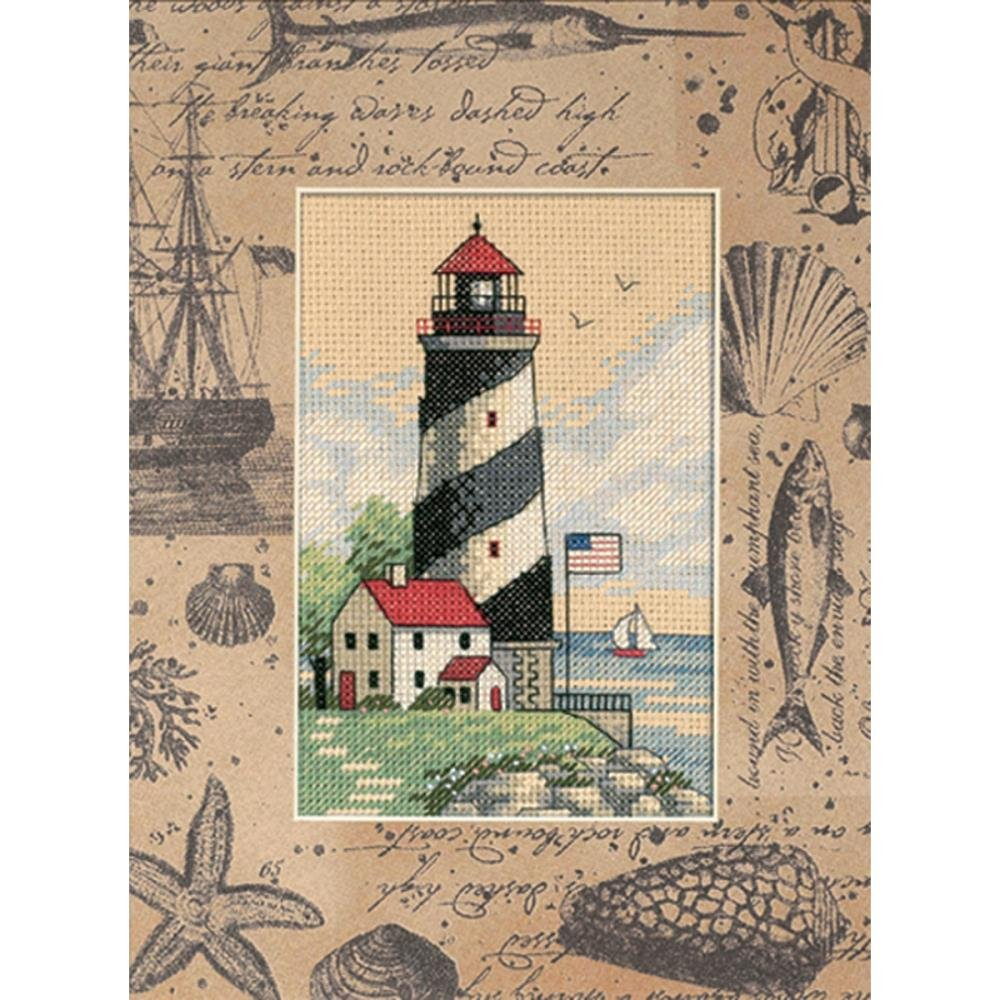 Matted Accents Counted Cross Stitch Kit 8x10