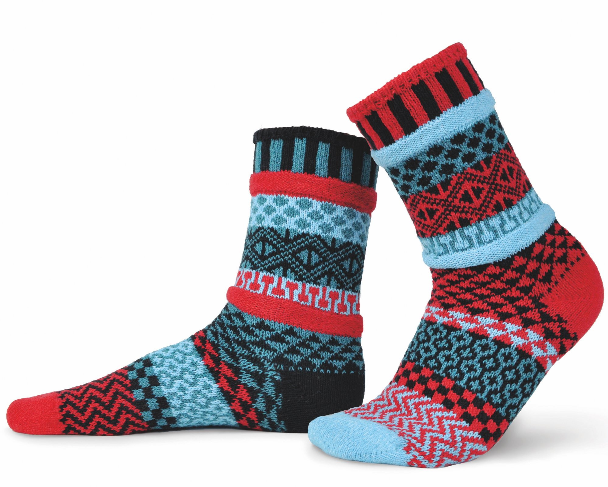 Solmate Crew Socks Mars