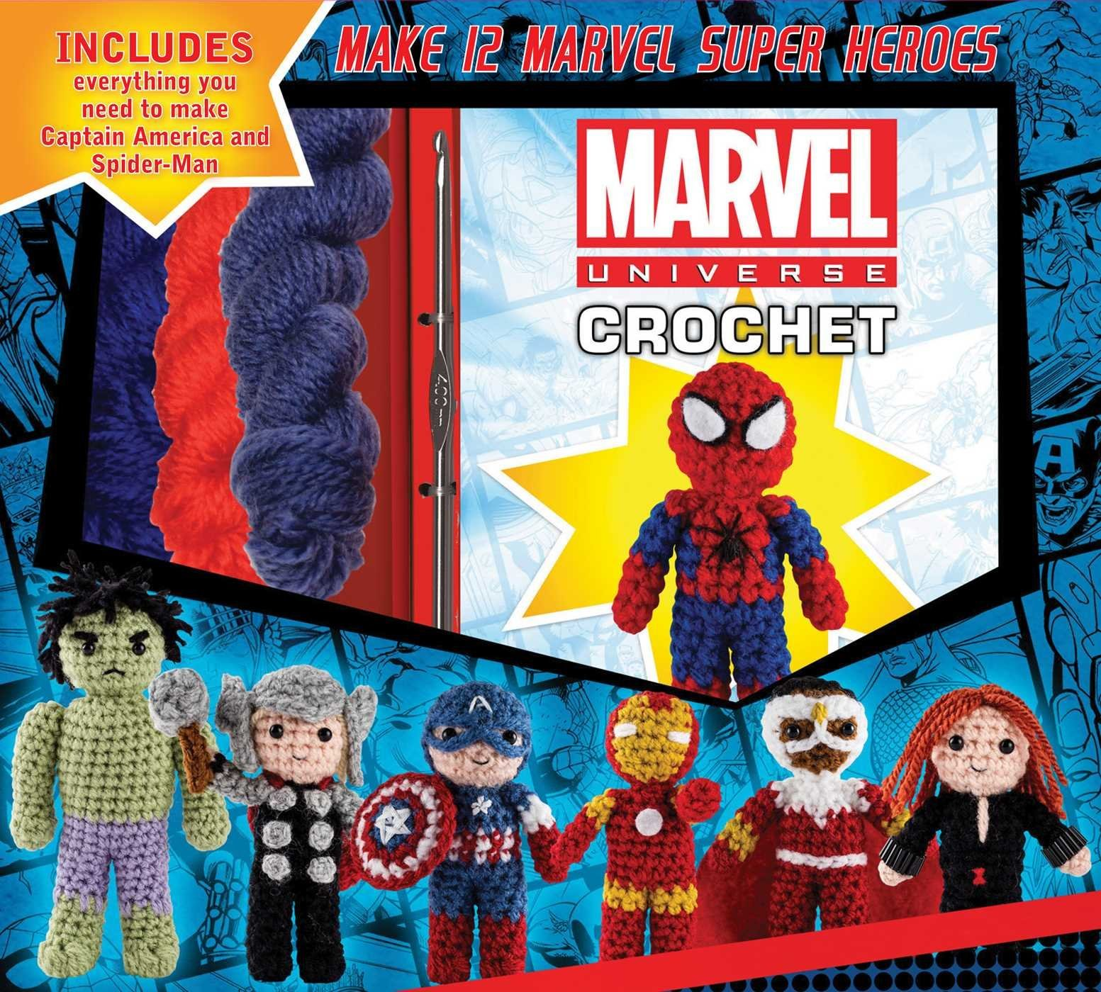 Marvel Universe Crochet Kit