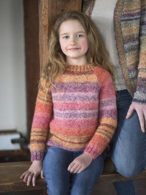 Berroco Pixel - Matilda Child's Sweater PDF
