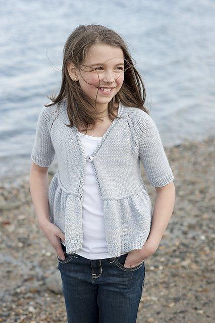 Coastal Kids Mini Waters Edge Cardigan