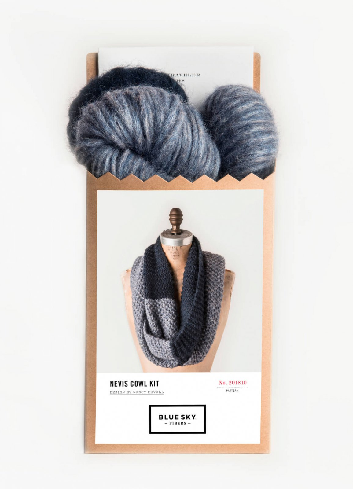 Blue Sky Fibers Nevis Cowl Kit