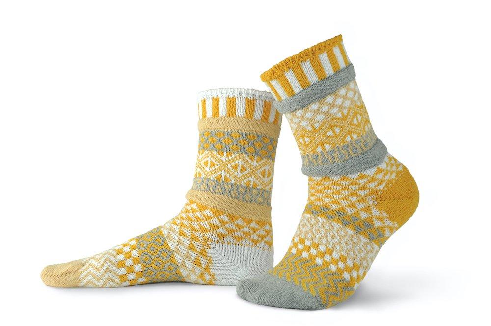 Solmate Crew Socks Northern Sun