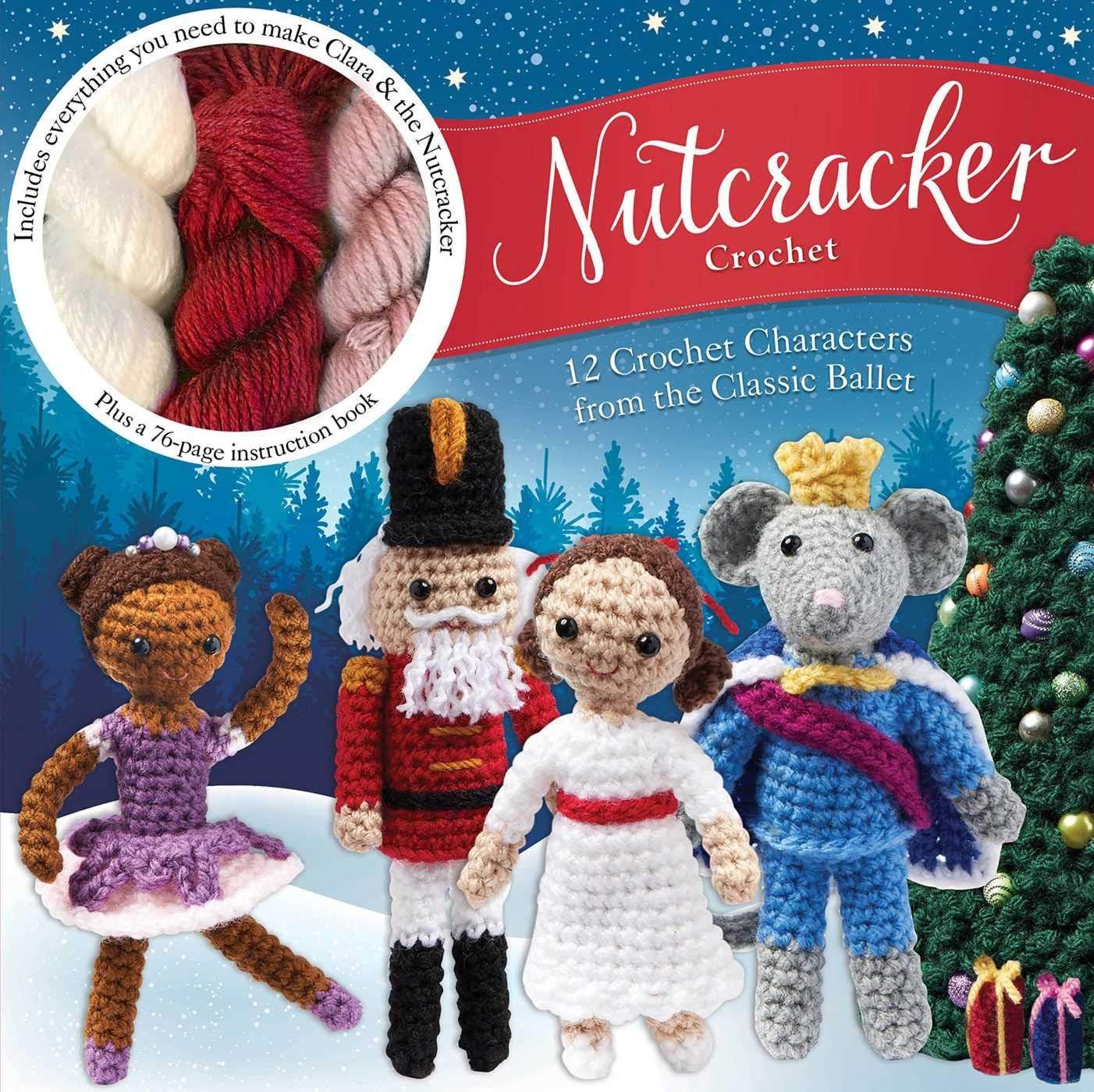 Nutcracker Crochet Kit