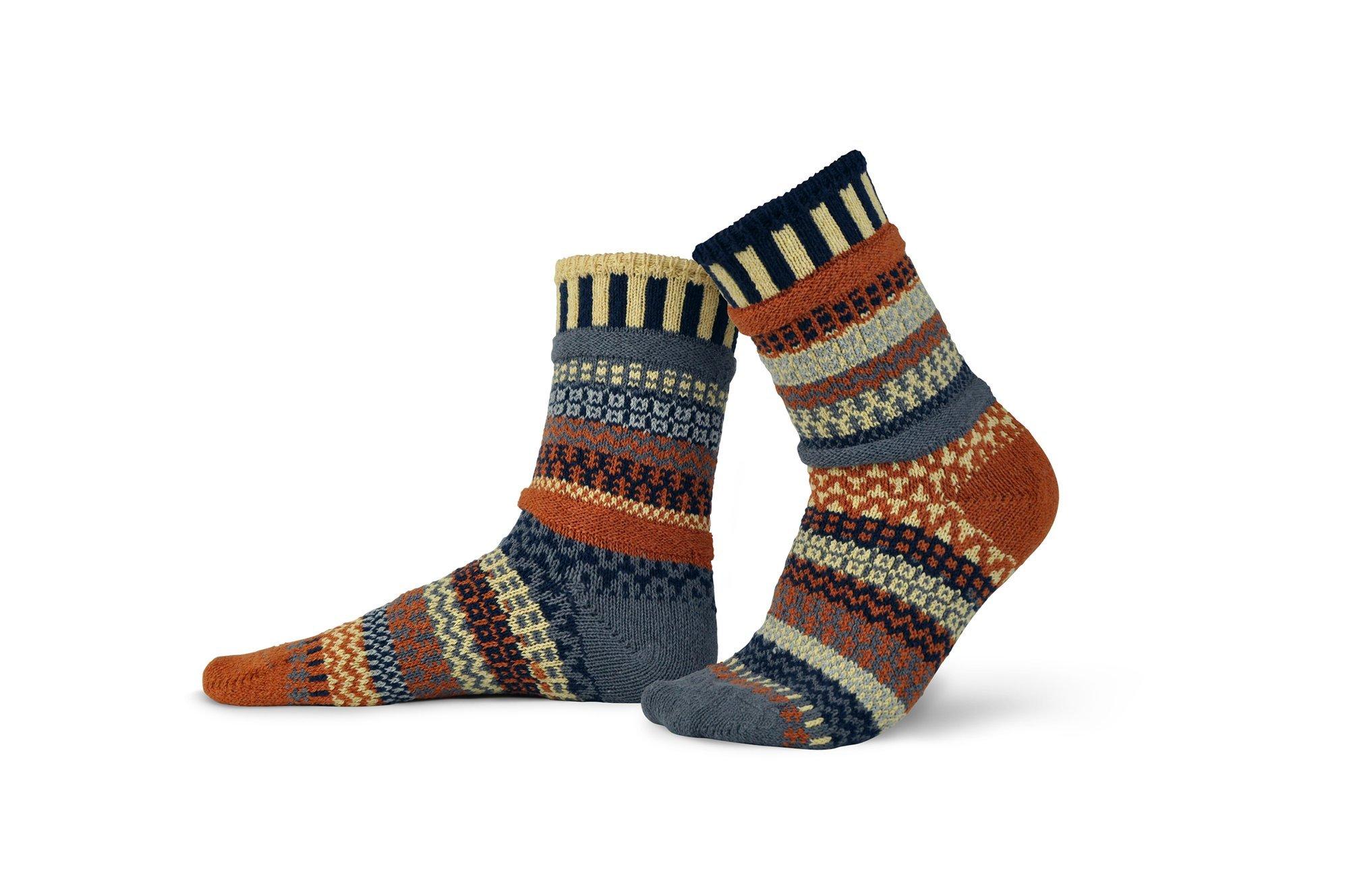 Solmate Crew Socks Nutmeg