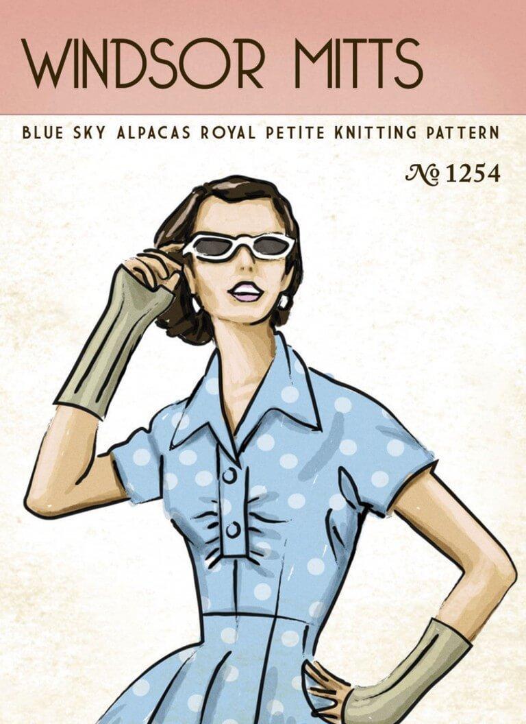 Blue Sky Fibers Windsor Mitts Pattern