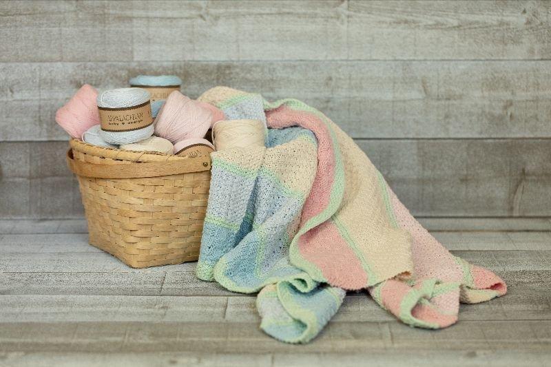 Appalachian Baby Pick-A-Knit Square Blanket